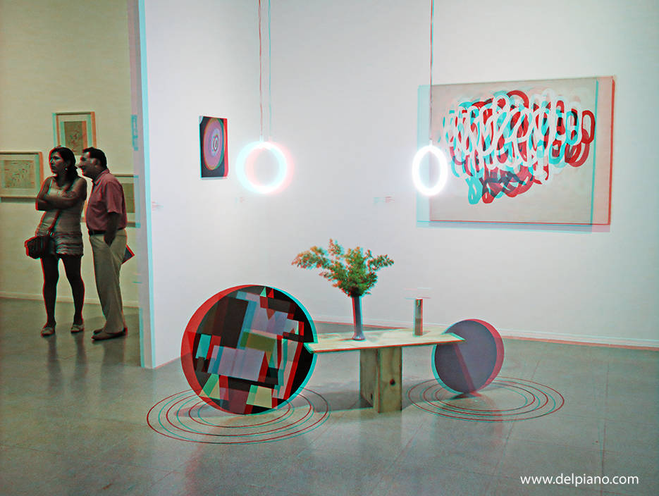 3D stereo Anaglyphs of Art and Museums