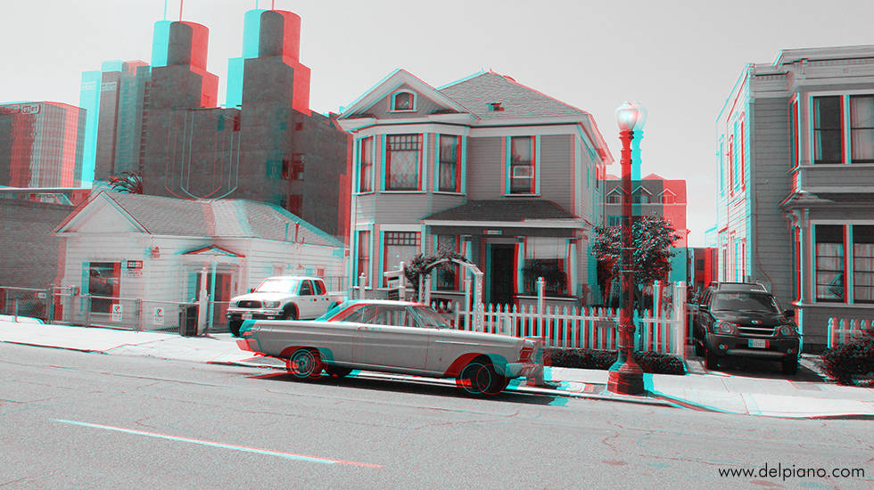 3D stereo Anaglyphs of cities, Environment and historical sites