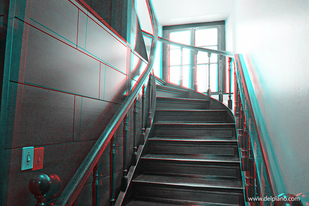 Everyday objects in 3D and Abstract red/cyan Anaglyphs