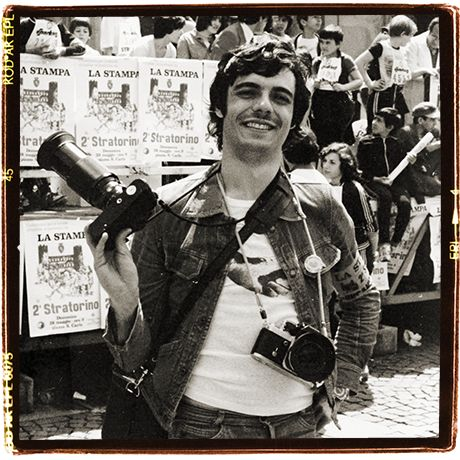 Stratorino Marathon 1977. I was the official photographer from La Stampa