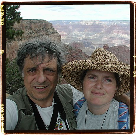 Grand Canyon expressions. Old selfie: 1998