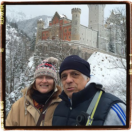 Who doesn't like snow and castles? News...whatever in Bavaria