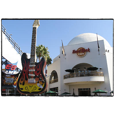 Universal Sudios, Hollywood - Hard Rock Cafe
