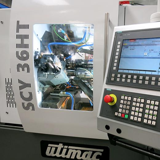 CNC Multi-Spindle Lathe - 6 axis - fully computerized
